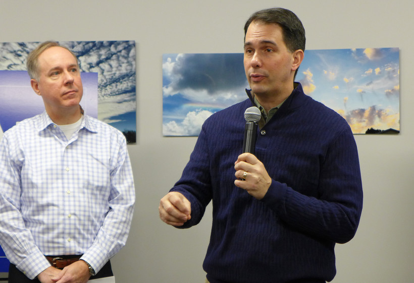 Gov. Scott Walker, Robin Vos