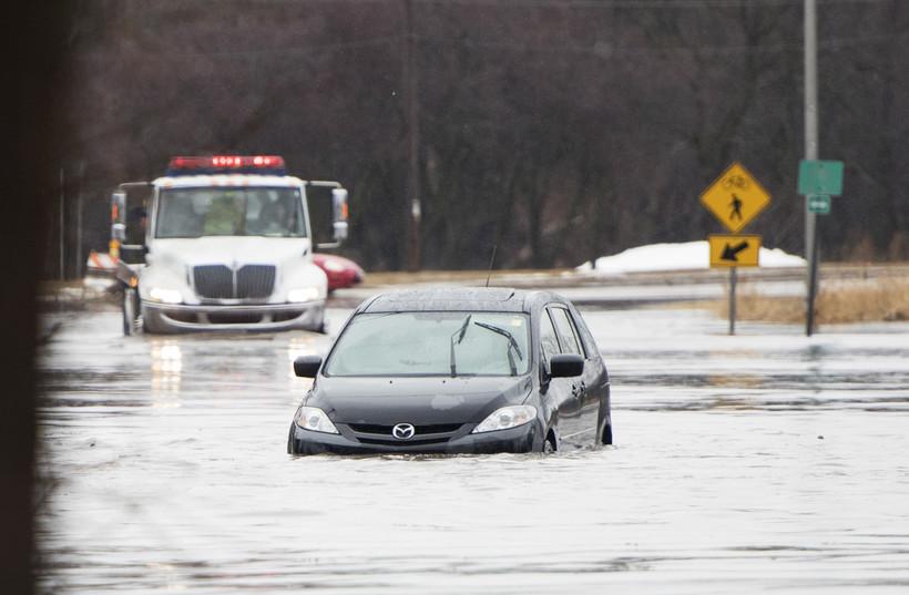 Flooding, Janesville
