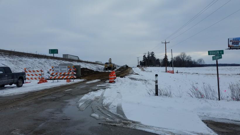 Interstate-94 road work