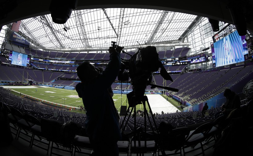 Videographer at U.S. Bank Stadium