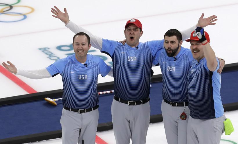 U.S. Men's Olympic Curling Team