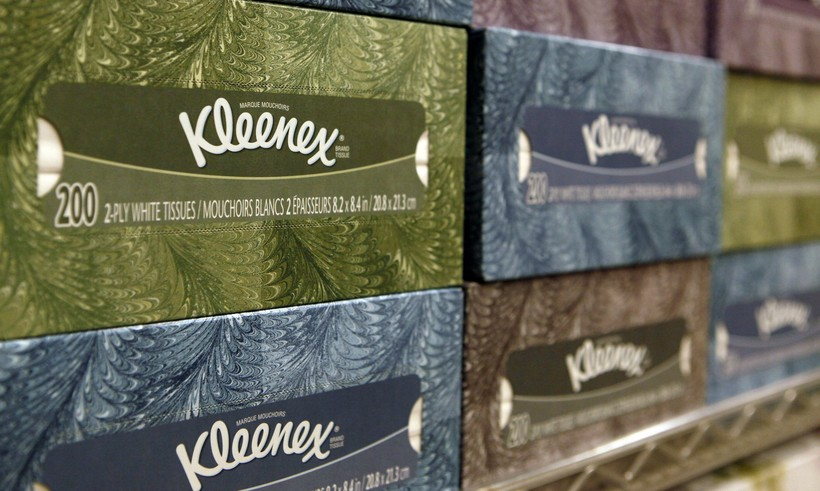 Kleenex, Kimberly-Clark