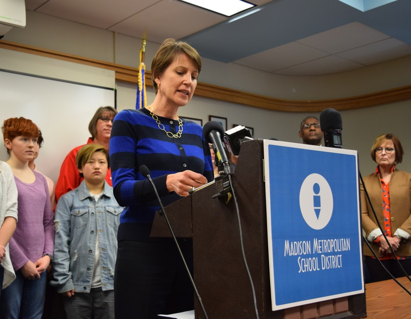 Madison Superintendent Jennifer Cheatham