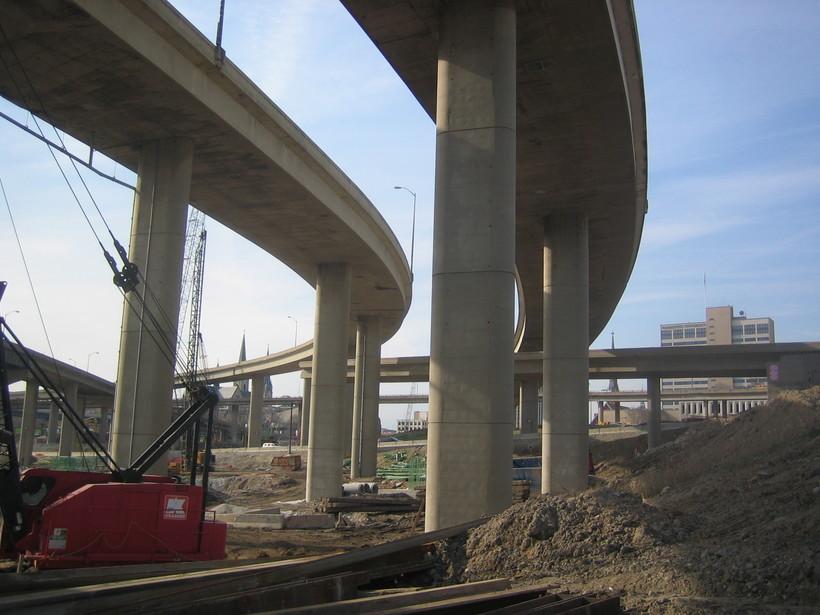 Interstate in Milwaukee