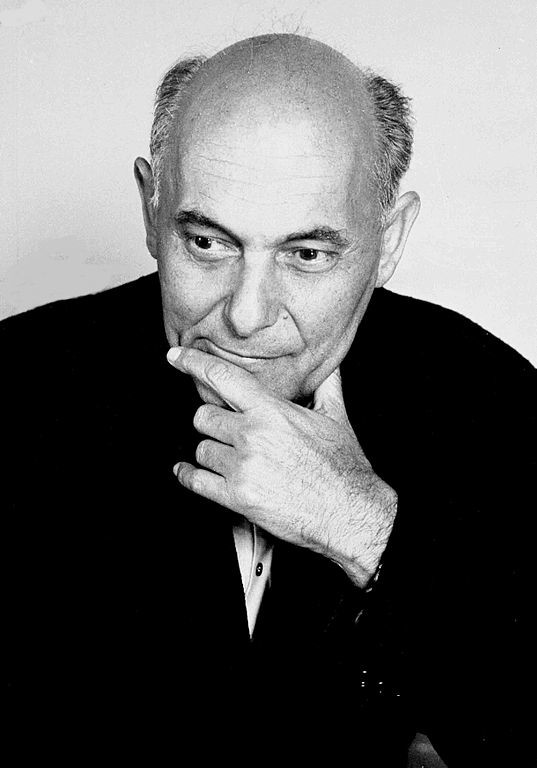 Photo of conductor Sir Georg Solti