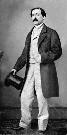 Photo of Louis Moreau Gottschalk