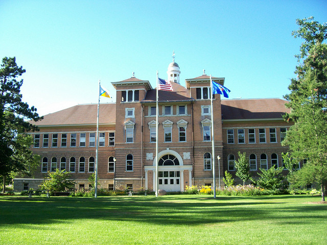 Old Main Hall, UW-Stevens Point