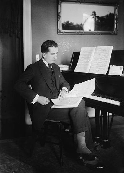 Photo of conductor Alfredo Casella