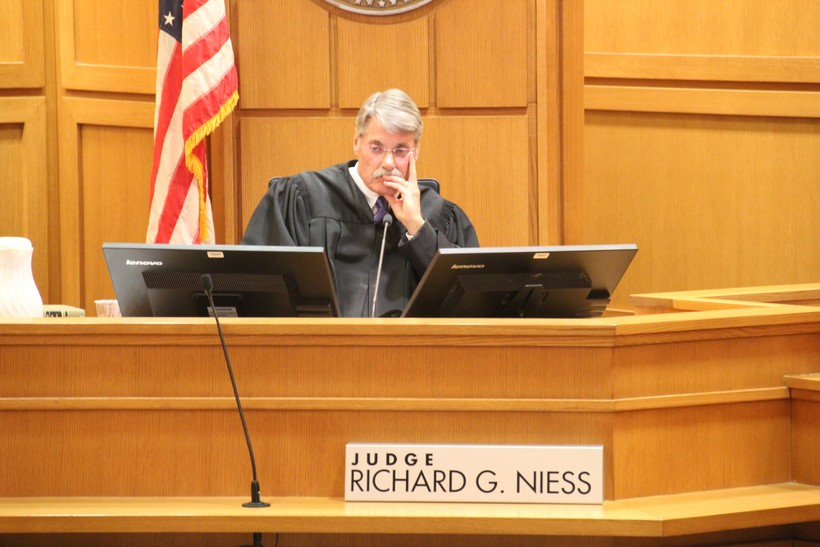 Dane County Circuit Court Judge Richard Niess