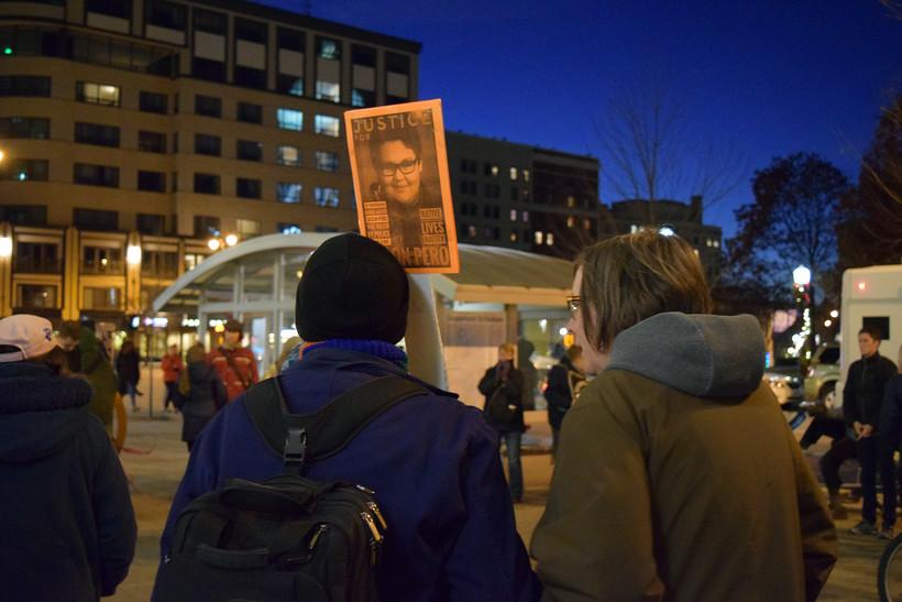 Madison protestors rally for Jason Pero