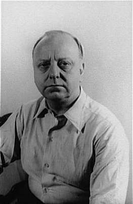 Photo of composer Virgil Thomson