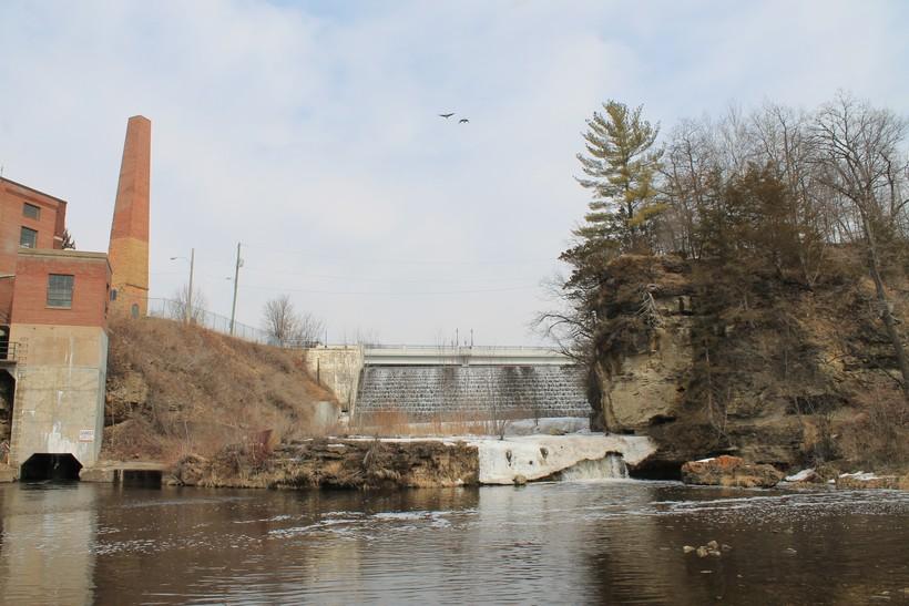 Dam at Junction Falls