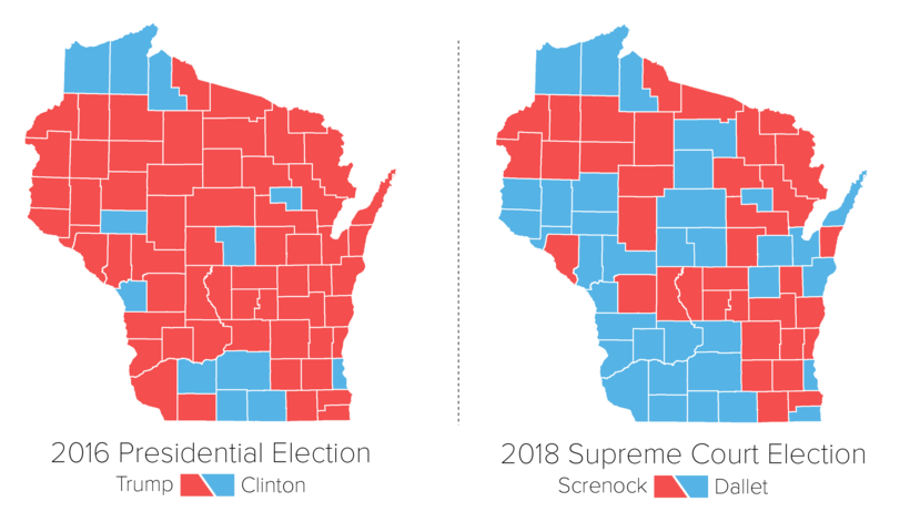Blue Wave Builds In Wisconsins Supreme Court Election Wisconsin