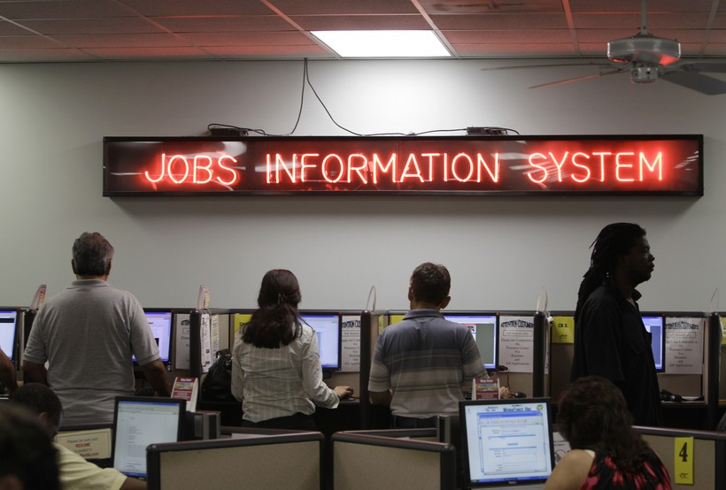 People looking for jobs
