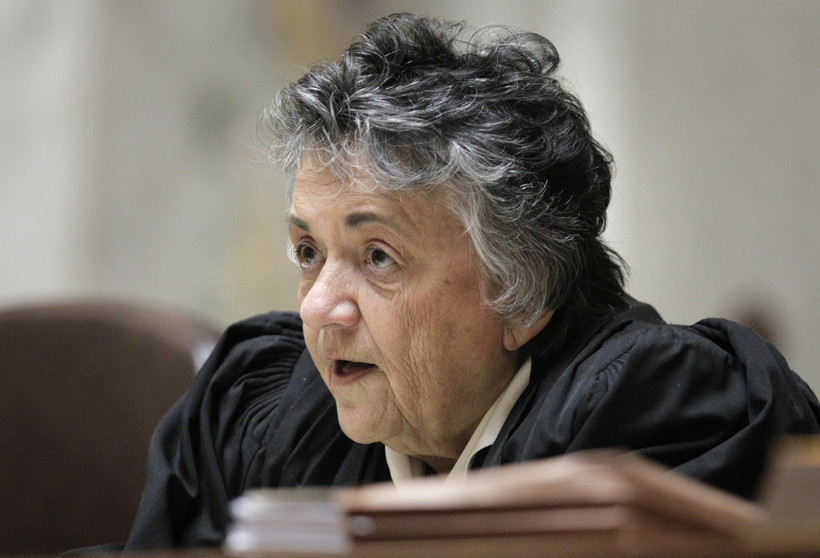 Wisconsin Supreme Court chief justice Shirley Abrahamson