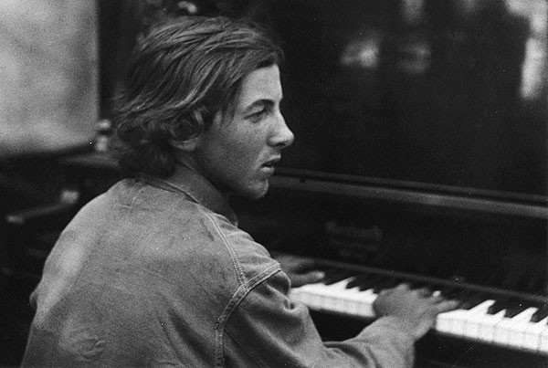 Photo of composer Henry Cowell