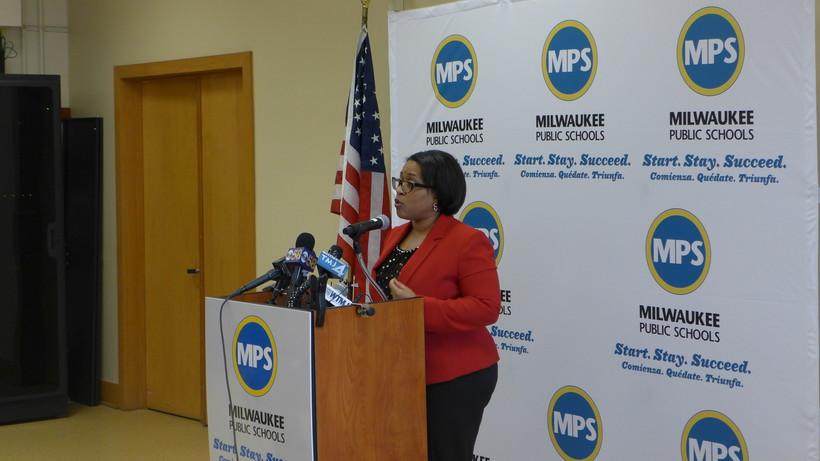 Milwaukee Public Schools' Superintendent Darienne Driver