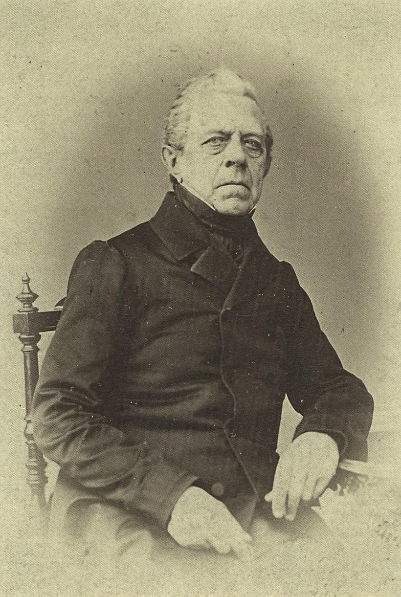 Photo of composer Franz Berwald