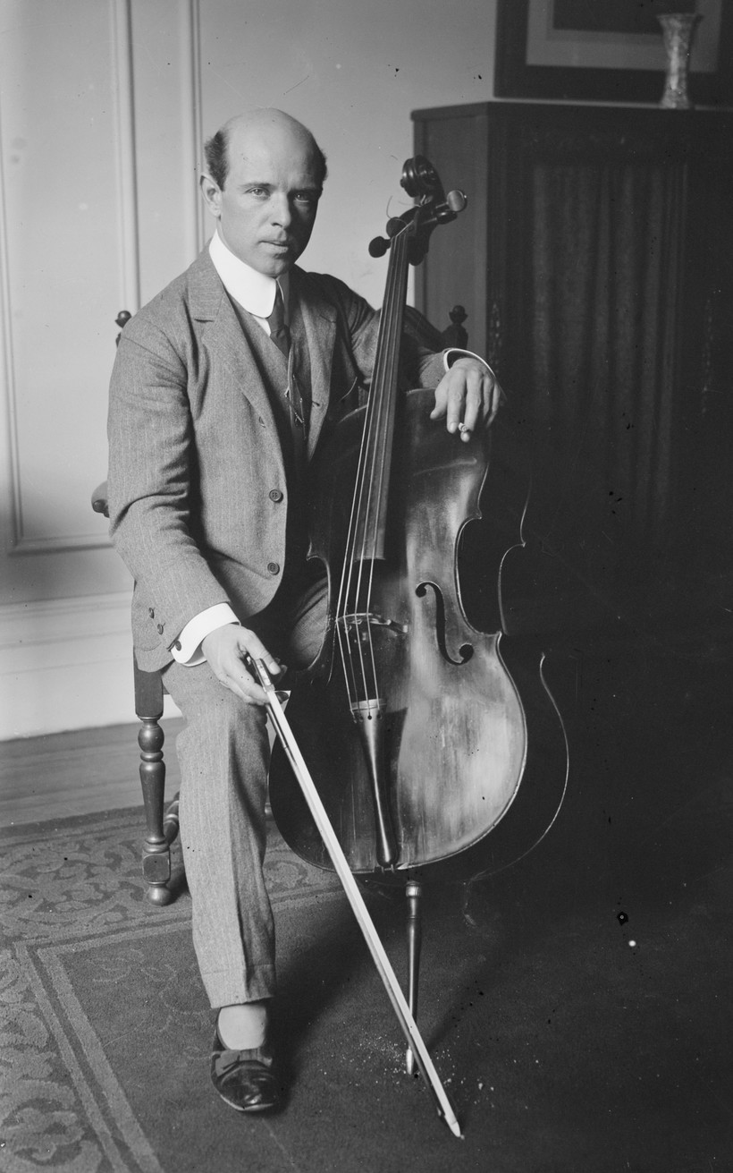 Photo of Pablo Casals