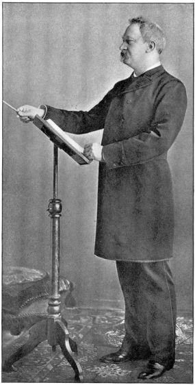 Photo of conductor Theodore Thomas