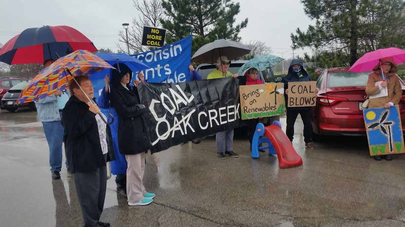 Members of the Clean Power Coalition-Southeast Wisconsin