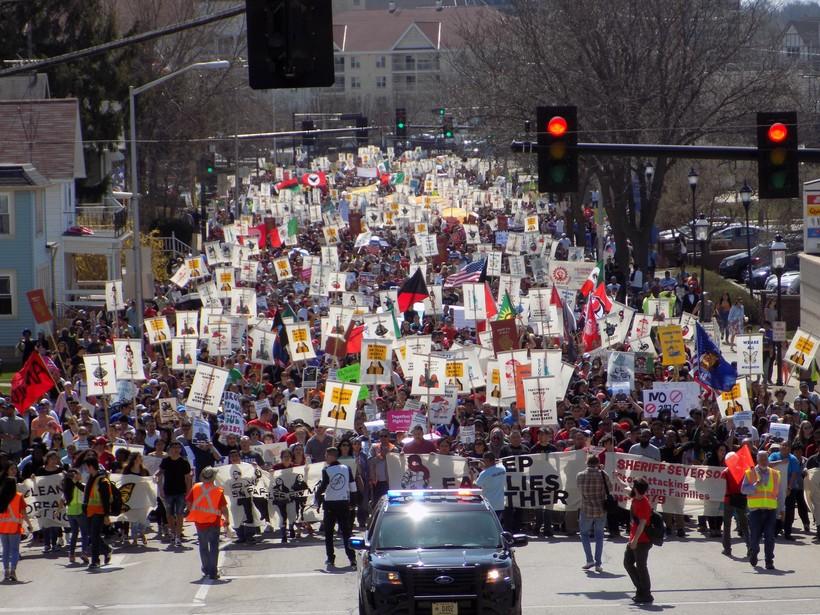 Voces de la Frontera rally