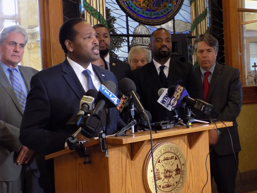 Milwaukee Common Council President Ashanti Hamilton