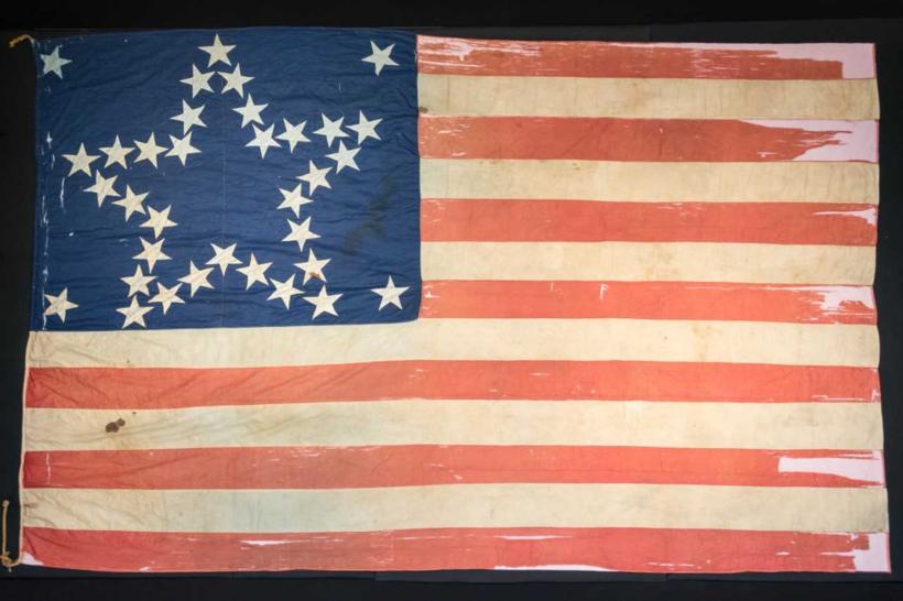 Rare Civil War era flag