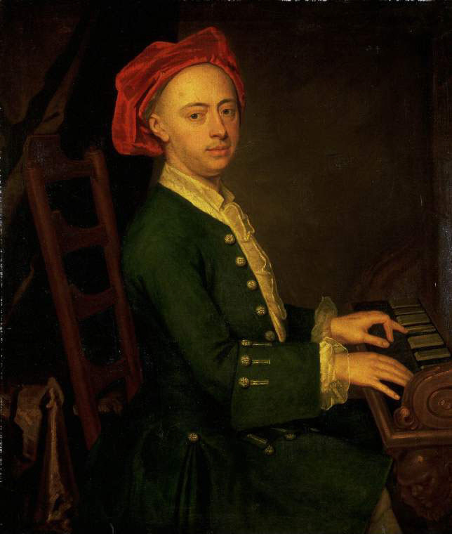 Portrait of Georg Friedrich Handel