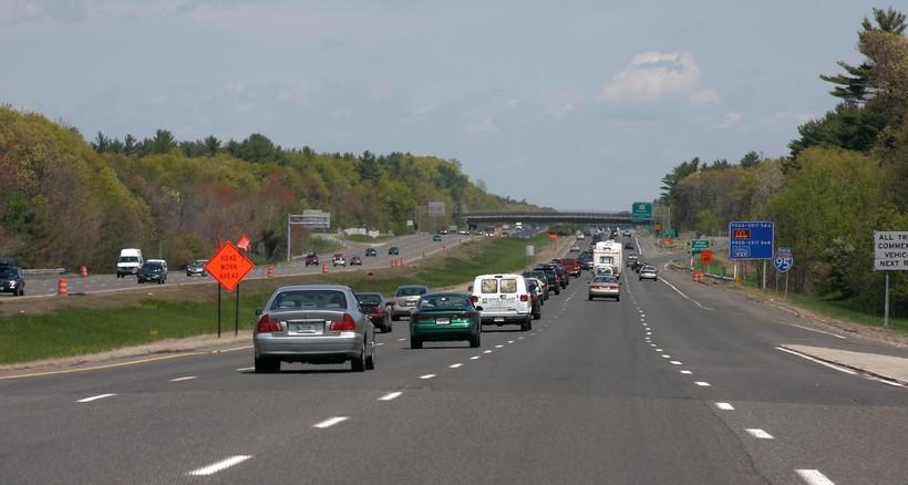 Traffic on Interstate 95