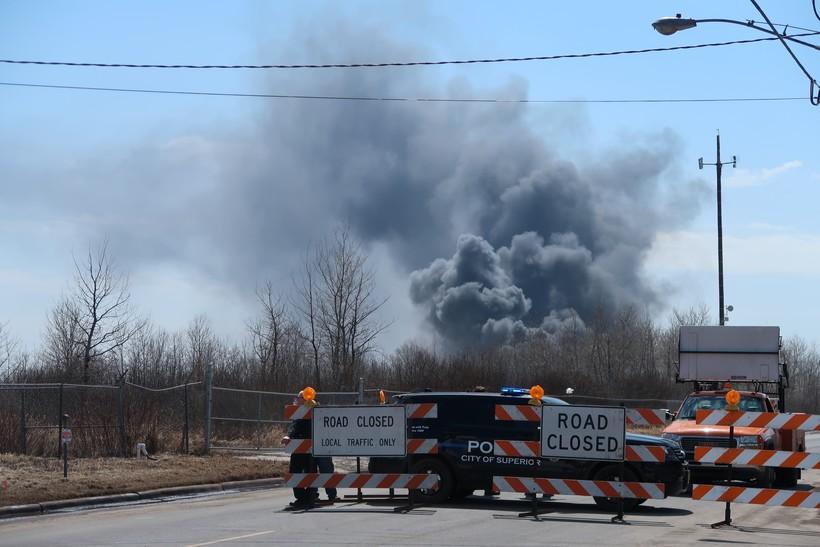 Superior Oil Refinery Fires Spark Health Concerns Over