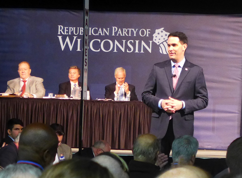 Gov. Scott Walker at GOP convention