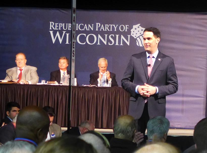Gov. Scott Walker at GOP convention