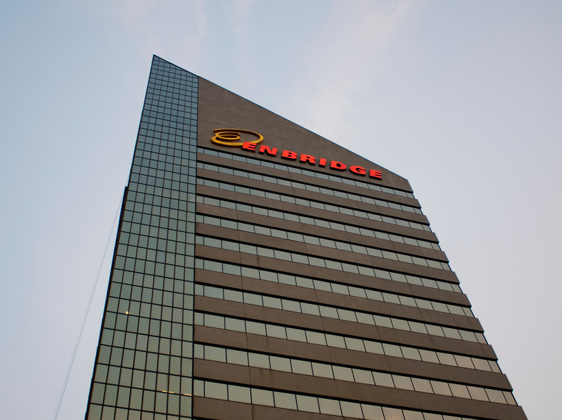 Enbridge headquarters in Edmonton, Alberta