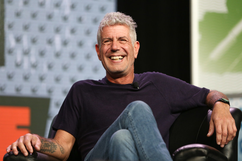 Anthony Bourdain speaks during South By Southwest