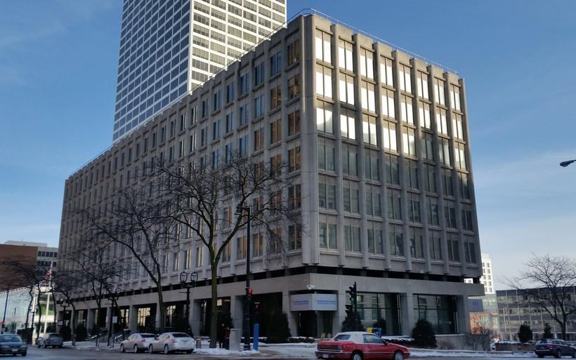 Downtown Milwaukee Foxconn building