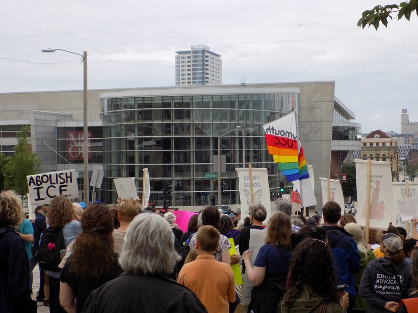 rally in Milwaukee