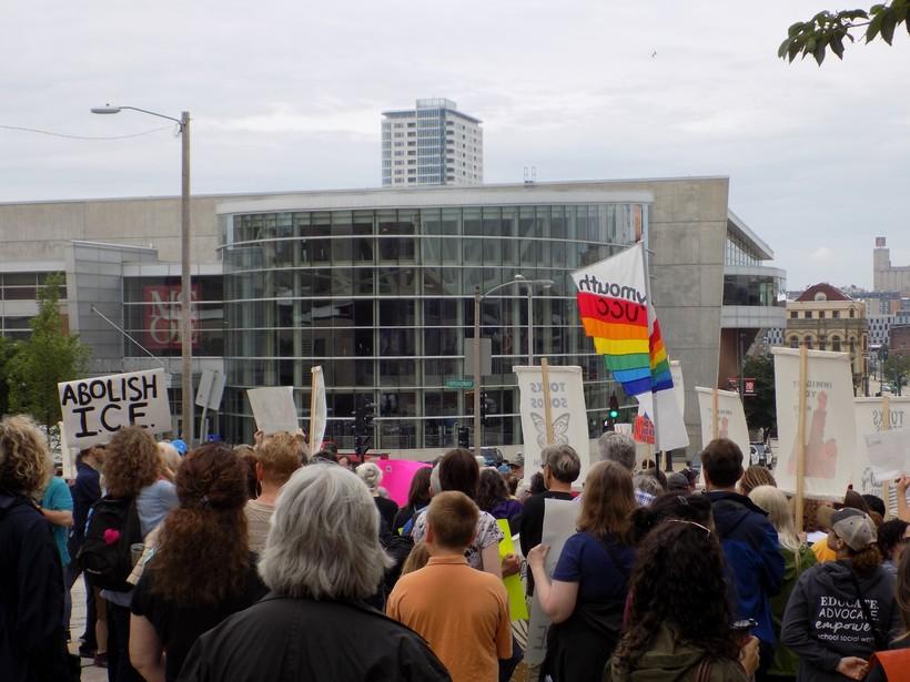 rally in Milwaukee