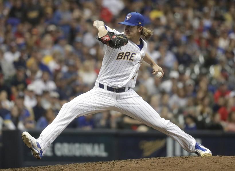 Milwaukee Brewers' Josh Hader