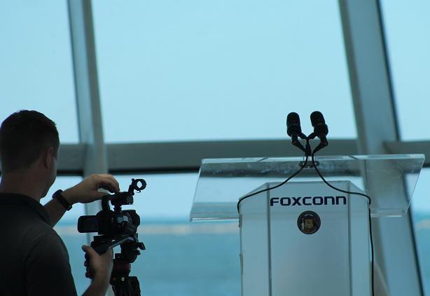 Foxconn podium