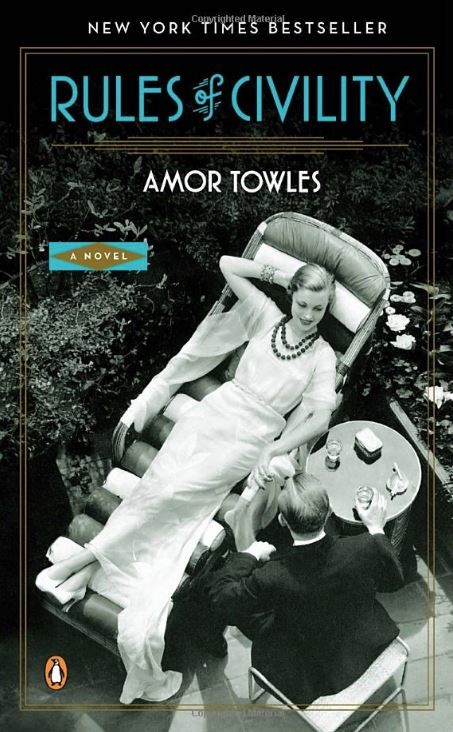 Book cover image for Rules of Civility by Amor Towles