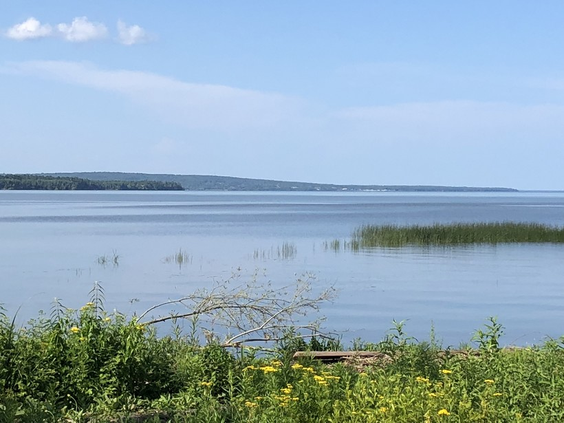 The Chequamegon Bay of Lake Superior