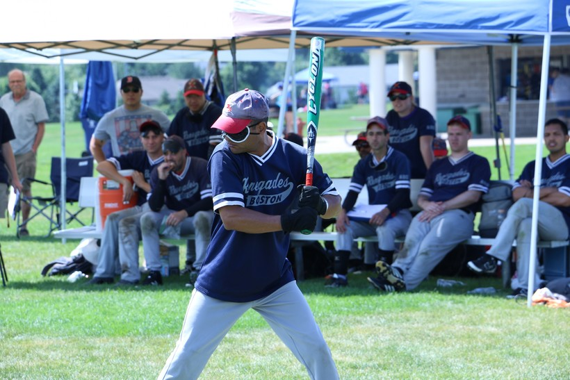 Luis Soto of the Boston Renegades awaits a pitch
