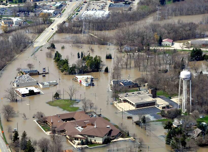 Lake County, Illinois, flooding