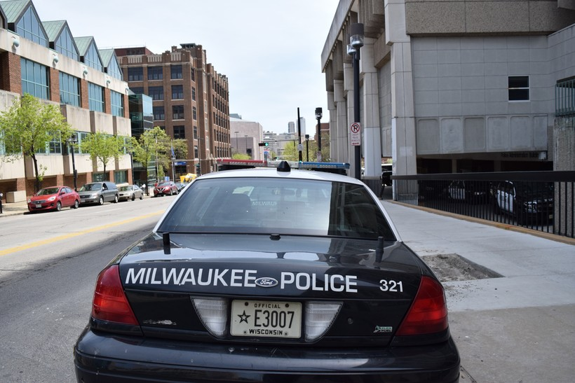 Milwaukee Police Department Squad Car