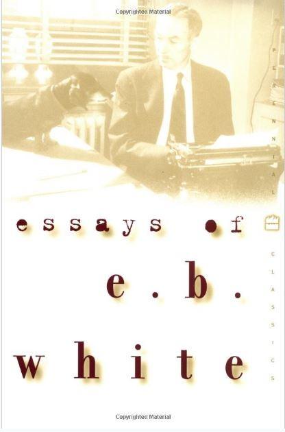 Book cover image for Essays of E.B. White