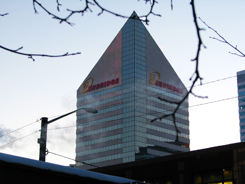Enbridge building in Edmonton