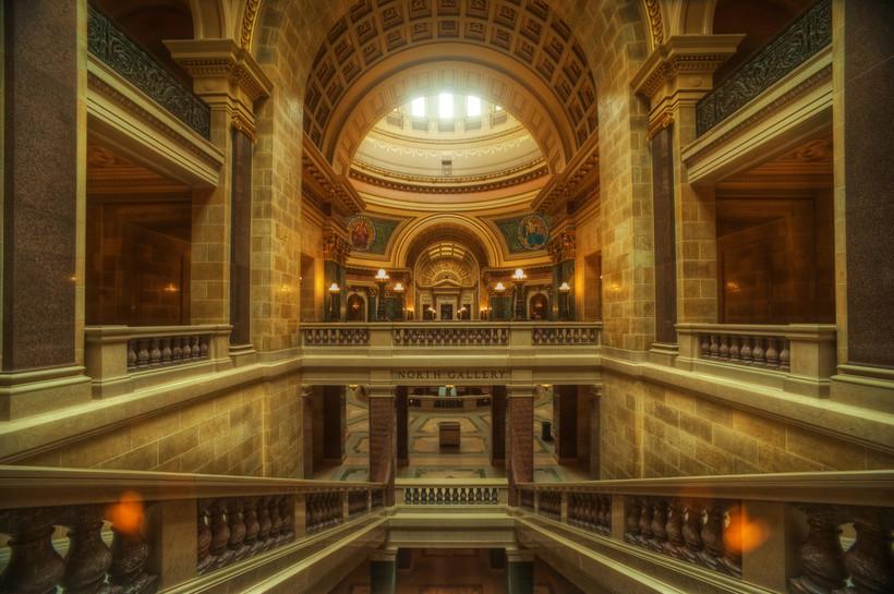 Wisconsin State Capitol, Senate