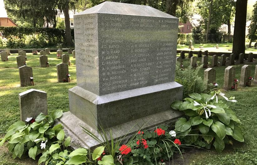 Confederate monument in Madison