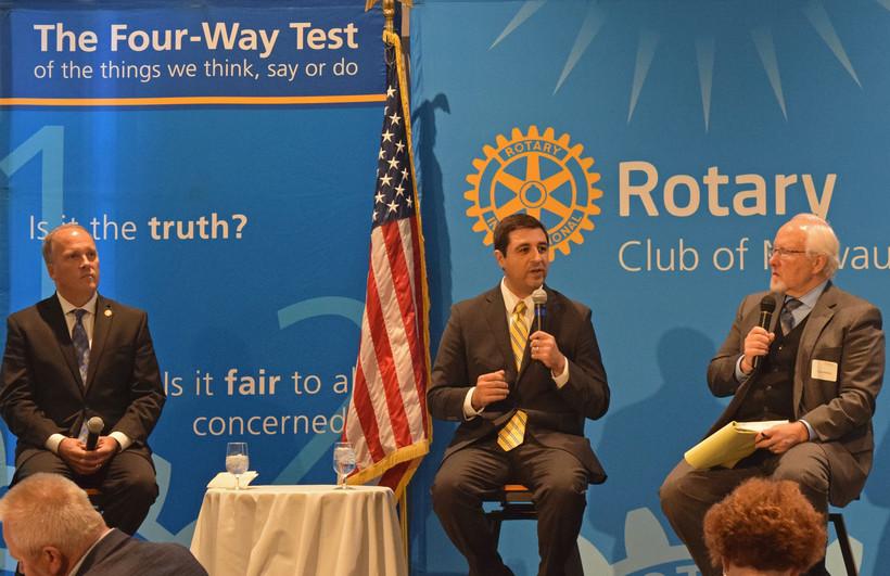 Brad Schimel and Josh Kaul debate in Milwaukee